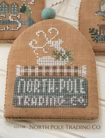 Hands On Design ~ White Christmas Series  ~ North Pole Trading Company
