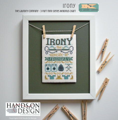 Hands On Design ~ Irony