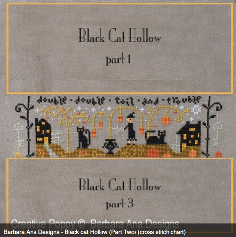 Barbara Ana Designs ~ Black Cat Hollow Part 2
