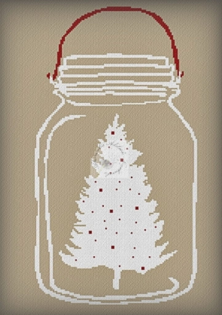 Alessandra Adelaide Needleworks ~ Christmas In A Jar