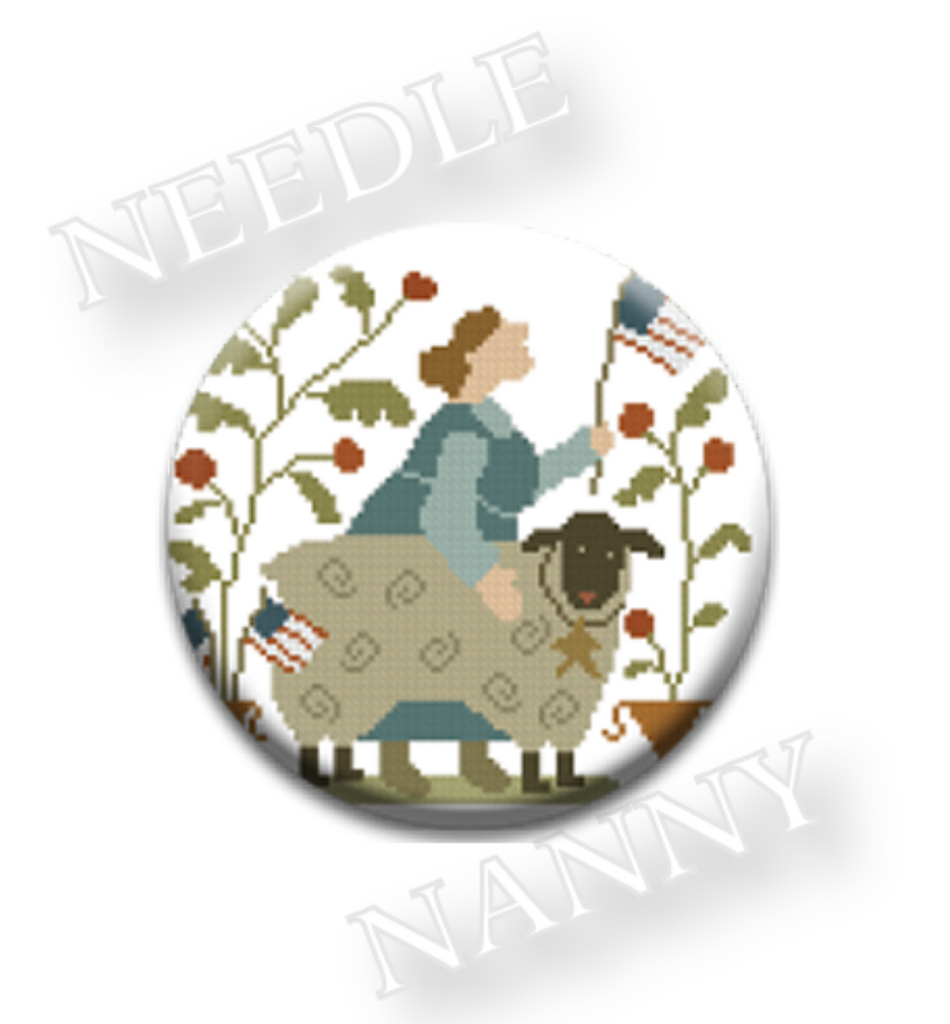 With Thy Needle & Thread  Flag Day Needle Nanny