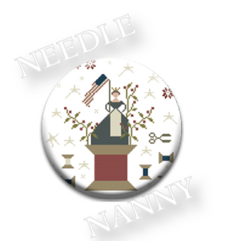 With Thy Needle & Thread Grand Old Flag Needle Nanny