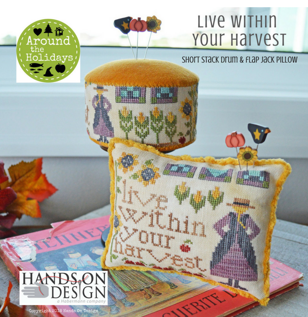 Hands On Design ~ Live Within Your Harvest
