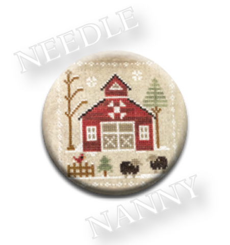 Farmhouse Christmas - Baa Baa Black Sheep Needle Nanny