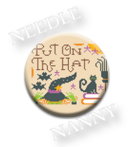 Hands On Design  ~ Put on the Hat Needle Nanny (Limited # In-stock!)