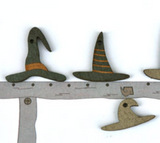 The Bee Company ~ Witch Hat Buttons