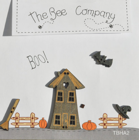 The Bee Company ~ Boo Buttons