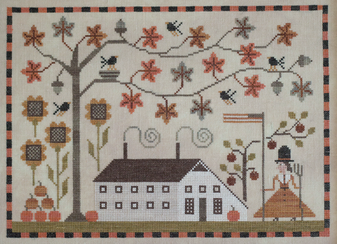 Plum Street Samplers ~ Betsy's Autumn