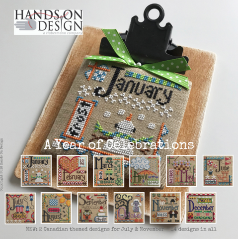 Hands On Design ~  A Year of Celebrations  ~ PRE-ORDER Now!!!!!