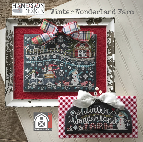 Hands On Design ~ Winter Wonderland Farm - Chalk On The Farm - Coming Mid December, PRE-ORDER NOW!!!!