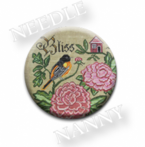 Cottage Garden Samplings ~ Summer Bliss - Needle Nanny
