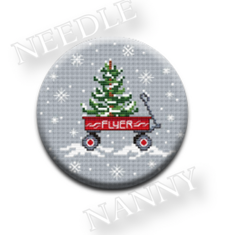 Sue Hillis Designs ~ Flyer Needle Nanny ~ Home for the Holidays