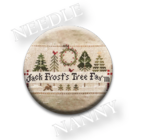 Little House Needleworks ~ Jack Frost's Tree Farm Needle Nanny's (CHOICE OF 2)