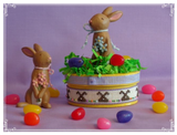 Faithwurks Designs ~ Chocolate Bunny Box 2019  ~ VERY Limited # Available!
