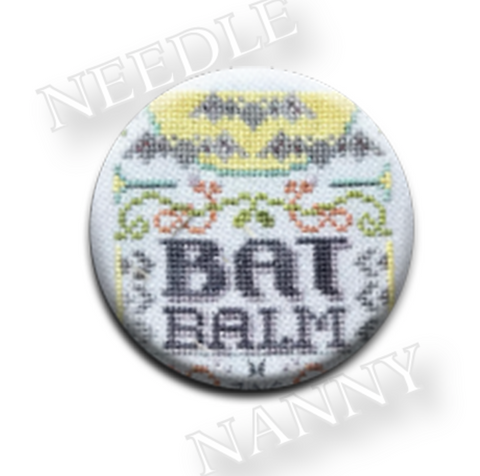 Hands On Design ~ Bat Balm Needle Nanny