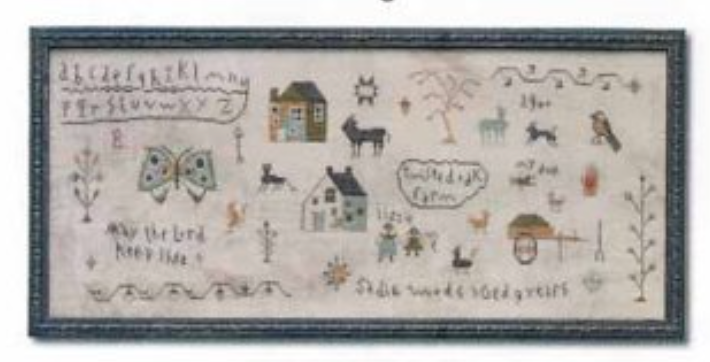 Barbara Ana Designs ~ Sadie Woods Sampler