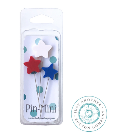 Hands On Design ~ Star Spangled Swine Farm - Mini Pins- PRE-ORDER for early June shipment!