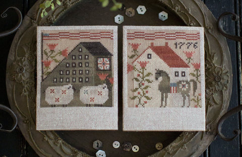 Plum Street Samplers ~ Summer Saltboxes