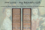Hands Across The Sea Samplers ~ MH 1656 - My Beloved's Gift