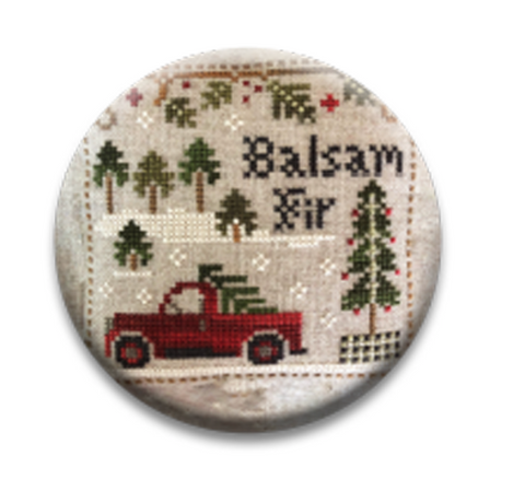 Little House Needleworks ~ Jack Frost's Balsam Fir Needle Nanny