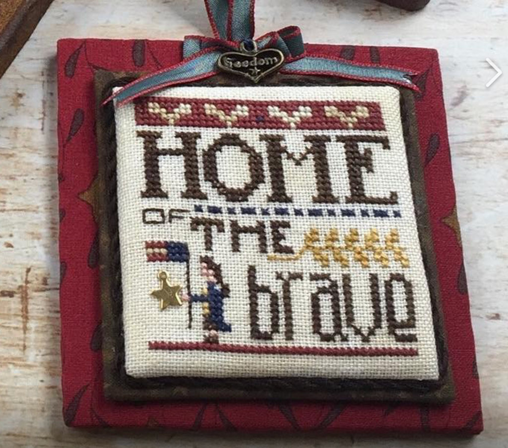 Heart In Hand ~ Merry Making Mini: Home of the Brave