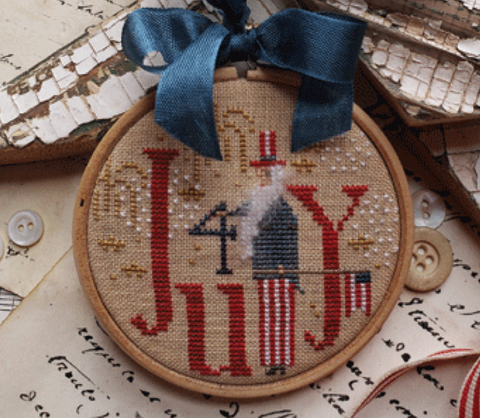 Country Stitches/With Thy Needle & Thread ~ Holiday Hoopla - 4th Of July