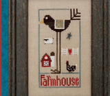 Heart In Hand ~ Farmhouse Bird w/emb.