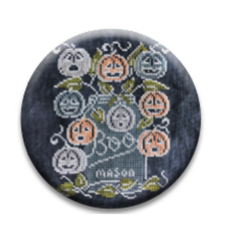 Hands On Design ~ Chalk Full:  Boo Needle Nanny - 2 Choices (PRE-ORDER NOW - Read Details Please!)