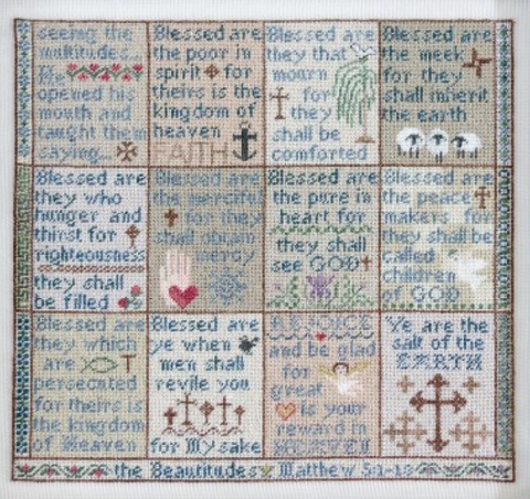 Erica Michaels Designs ~ The Beatitudes - Part 3  (Bottom Row, 4 designs)