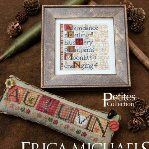 Erica Michaels Designs ~ Defining Autumn w/silk gauze