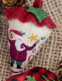 Erica Michaels Designs ~ St. Nick's SILK Berry w/silk gauze