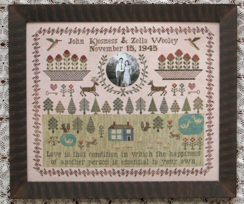 Heartstring Samplery ~ Wedding Sampler