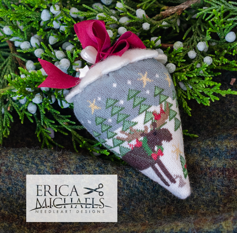 Erica Michaels Designs ~ ChrisMoose Berry - Silk Berry Collection