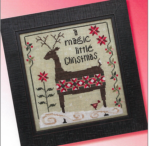 Heart In Hand ~ Patchwork Deer