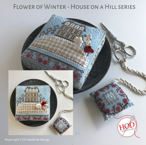 Hands On Design ~ House On A Hill Series - Flower Of Winter
