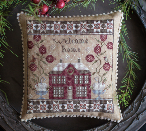 Plum Street Samplers ~ Home For Christmas