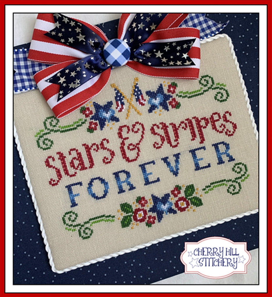 PDF ~ Cherry Hill Stitchery ~ Stars and Stripes PDF
