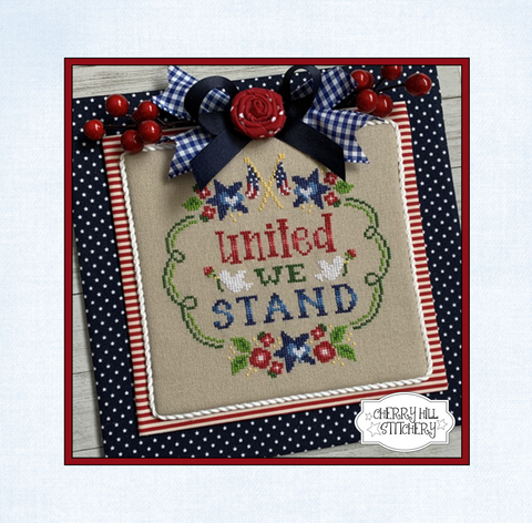 PDF ~ Cherry Hill Stitchery ~ United We Stand PDF