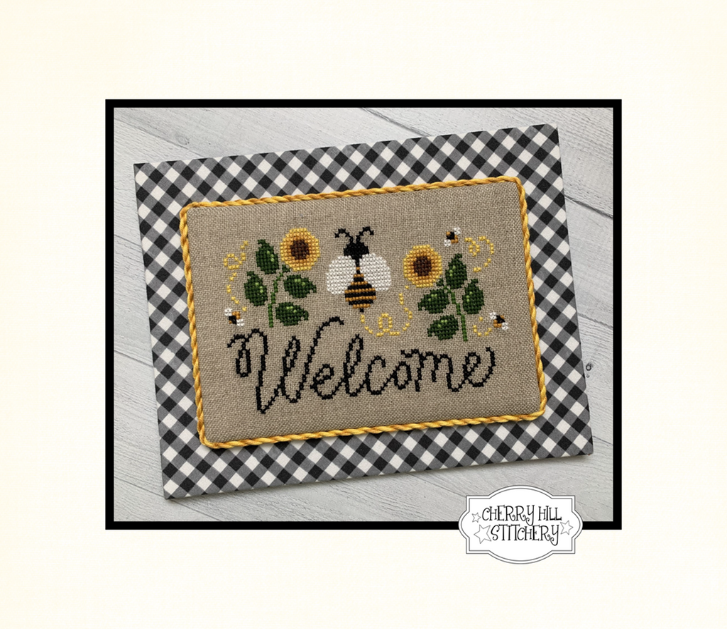 PDF ~ Cherry Hill Stitchery ~ Welcome PDF