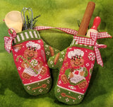 Blackberry Lane Designs ~ Gingerbread Mittens