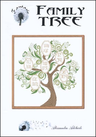 Alessandra Adelaide Needleworks ~ Family Tree
