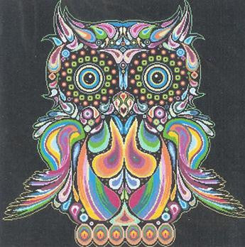 Alessandra Adelaide Needleworks ~ Happy Owl