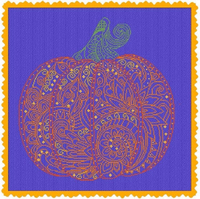 Alessandra Adelaide Needleworks ~ Lace Pumpkin