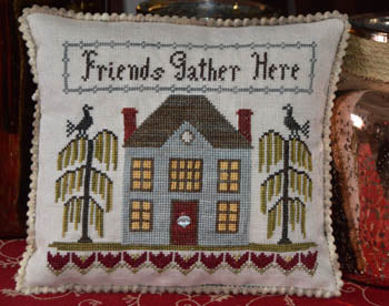 Abby Rose Designs ~ Friends Gather Here