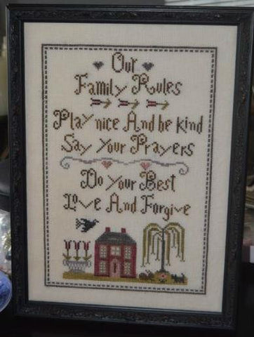 Abby Rose Designs ~ Our Family Rules