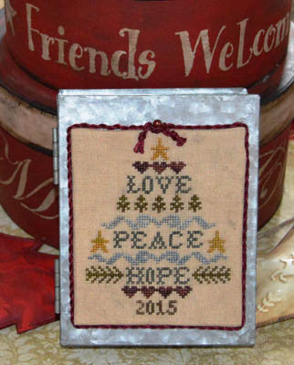 Abby Rose Designs ~ Love, Peace, Hope Tree