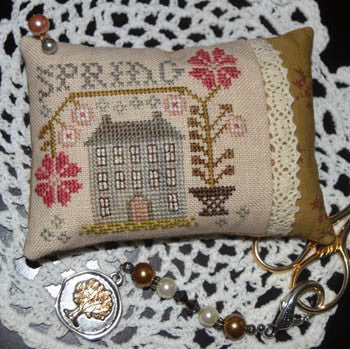 Abby Rose Designs ~ A Spring Pin Pillow