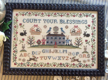 Annie Beez Folkart ~ Count Your Blessings