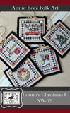 Annie Beez Folkart ~ Country Christmas 1