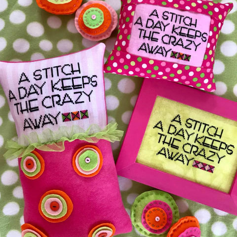 Amy Bruecken Designs ~ A Stitch A Day